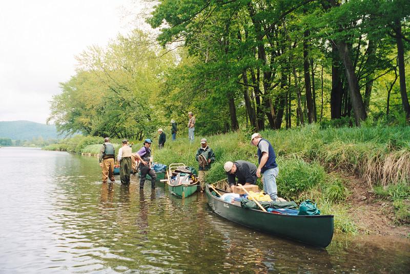 2001 Shad canoe trip
