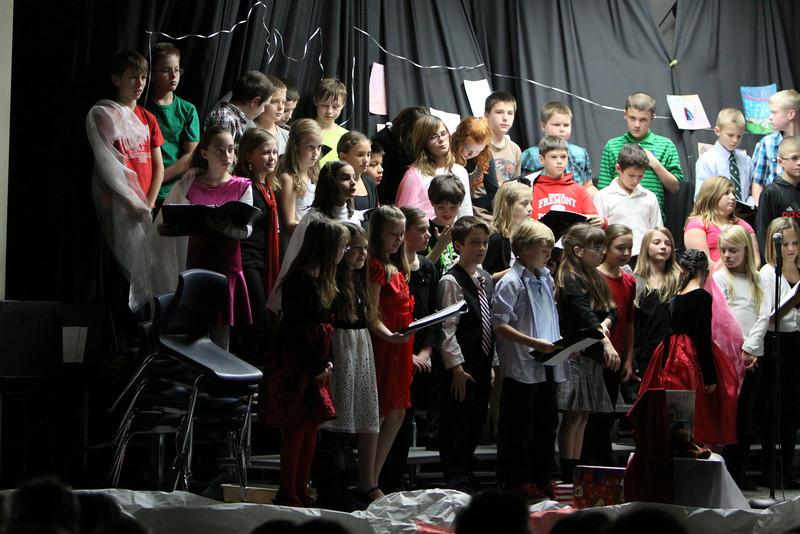 Daisy Brook - 12/12/2013 5th Grade Christmas Concert