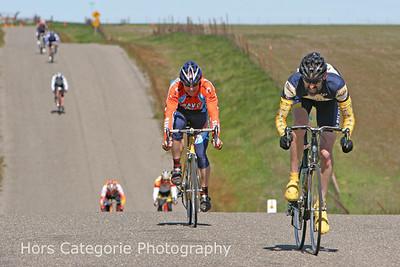 7763 Davis Bike Club's John Steggall sprints for 6th