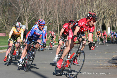 8833 BMC's Jon Garcia leads into the turn