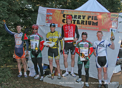 8991  The 2007 Cherry Pie Pro 1-2 Podium