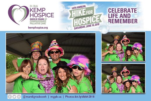 Dr. Bob Kemp Hospice - Hike for Hospice 2018