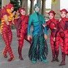 "Cirque du Soleil ""OVO"" Performers Walk The Atlantic City Boardwalk"