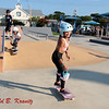 Skateboarder Sky Brown Visits Ocean City, New Jersey