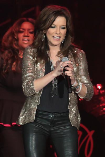 ATLANTIC CITY, NJ     01/16/2016<br /> Martina McBride appears in concert in the Arena at Trump Taj Mahal.<br /> <br /> Donald B. Kravitz / Getty Images