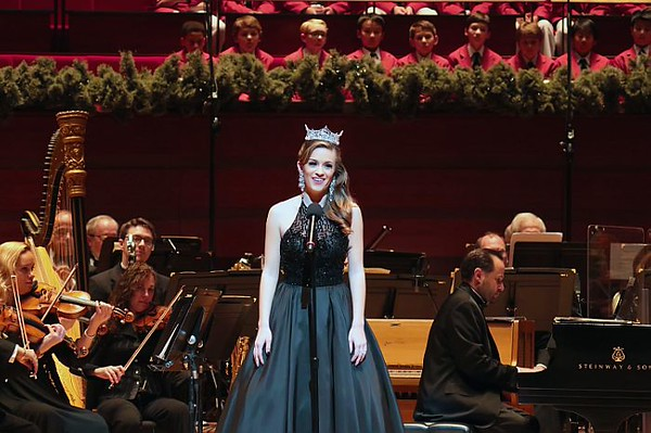 Miss America Performs With The Philly Pops