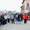 OCEAN CITY, NJ - MAY 31, 2021 - Ocean City held their Memorial Day Flag Raising Ceremony at the Music Pier, Monday morning at 8:50 AM. The flag raising will be at the same location and time thru September 11, 2021.<br /> Attendees salute the raising of the Memorial Day Flag. (Donald Kravitz)