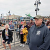 OCEAN CITY, NJ - MAY 31, 2021 - Ocean City held their Memorial Day Flag Raising Ceremony at the Music Pier, Monday morning at 8:50 AM. The flag raising will be at the same location and time thru September 11, 2021. (Donald Kravitz)