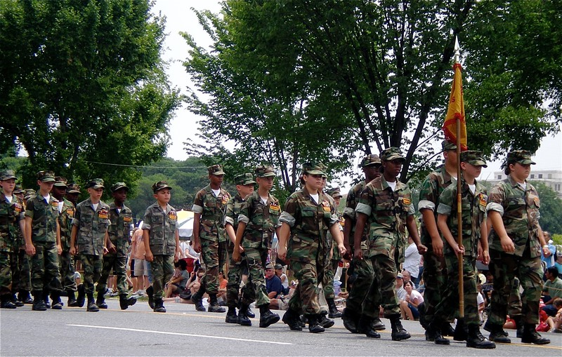 Independence 4th of July Parade in Washington, DC 2008