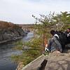 And enjoying views of the Potomac River.
