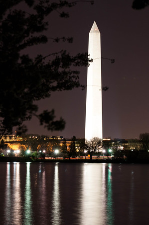 Wash Monument and Tidal Basin