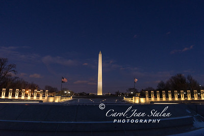 Washington Monument at Night 010418