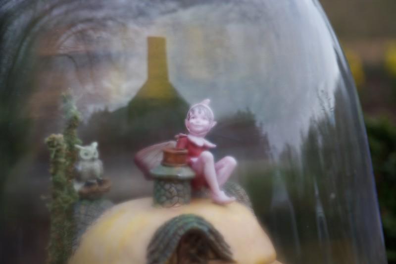 Fairy Under Glass