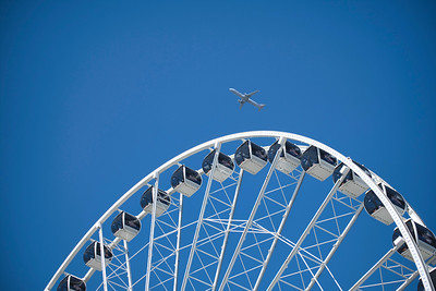 Wheel and Airplane