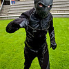 Manchester Film & Comic Con 2016, Cosplay, Cosplayer, Male, Comics, DC Comics, DC, Batman, New 52, Zoom, Body Suit, Jumpsuit, Mask, Body Armour, Top, Pants, Boots, Gloves, Helmet, Black, Gold White