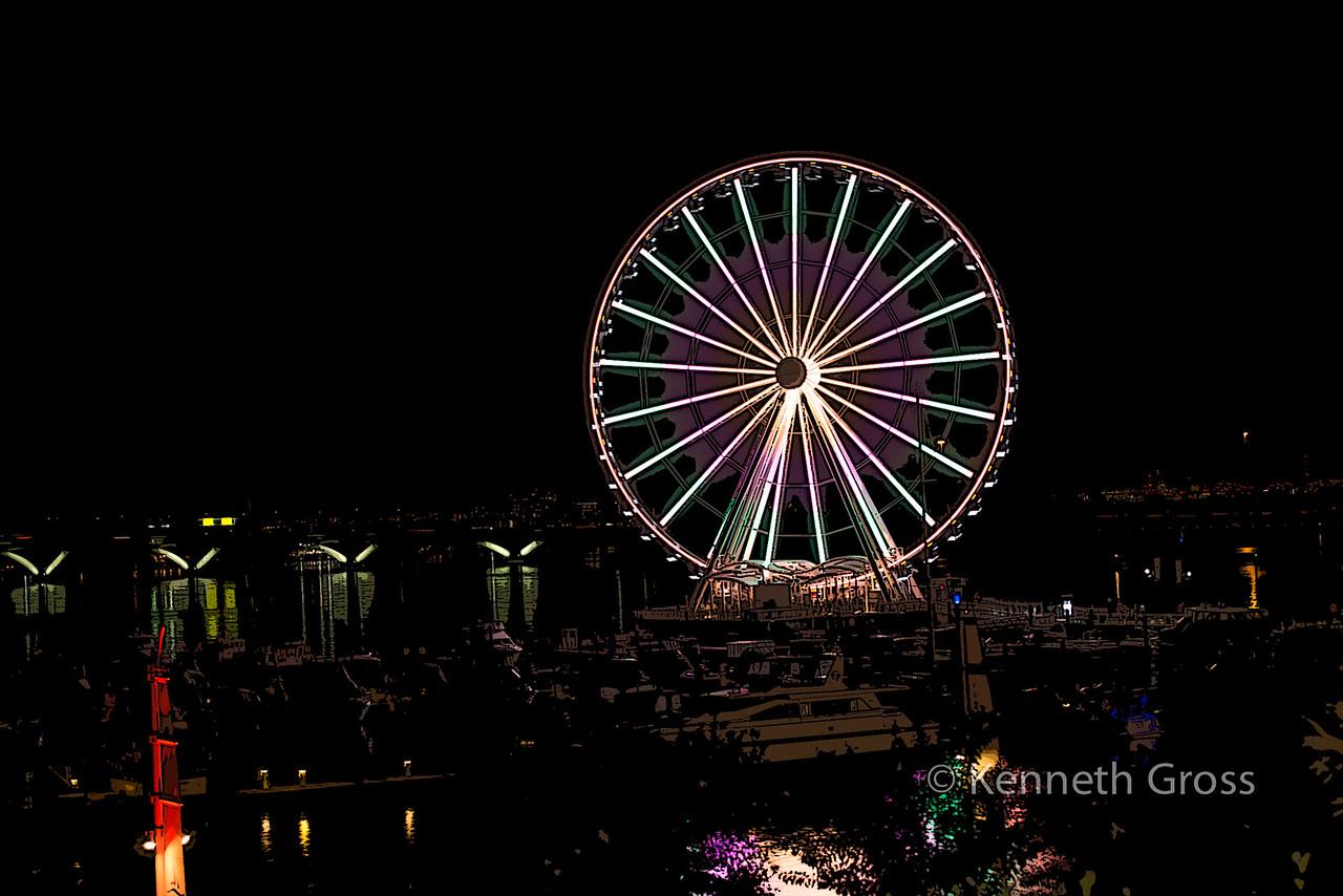 Ferris Wheel @ National Harbor copy