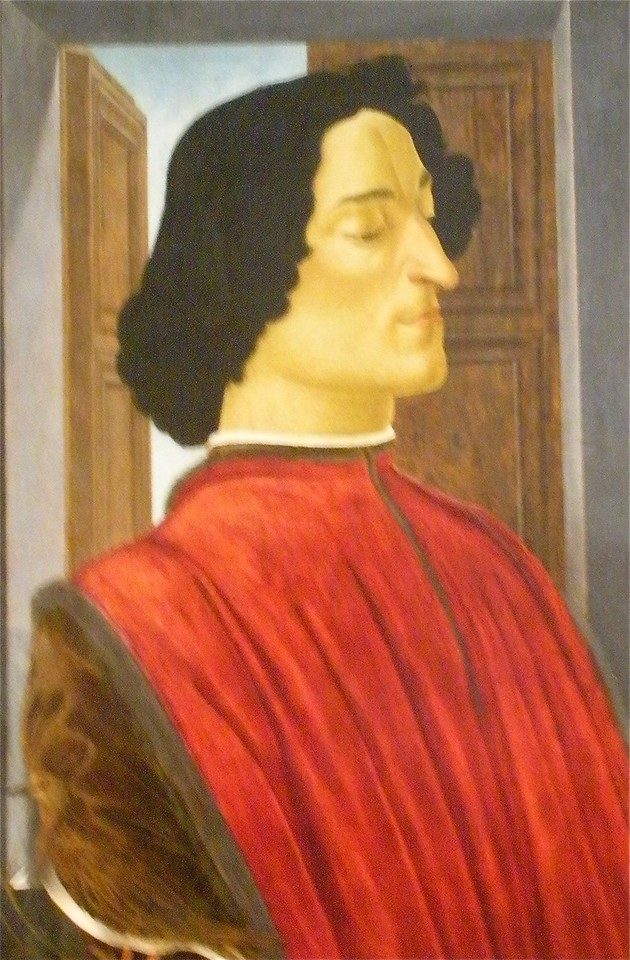 Giuliano de' Medici by Boticlli 1478: National Museum of Art in Washington DC, Summer Vacation  2008