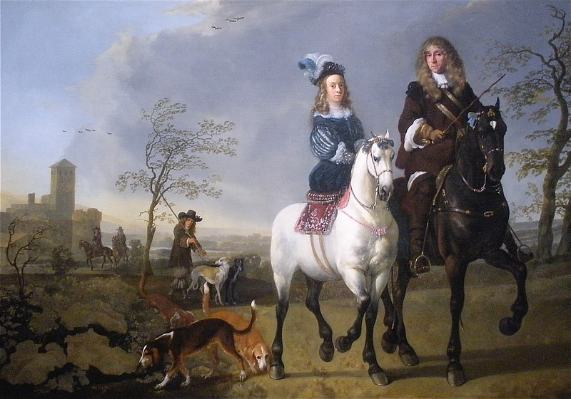 Lady and Gentleman by Cuyp: National Museum of Art in Washington DC, Summer Vacation  2008
