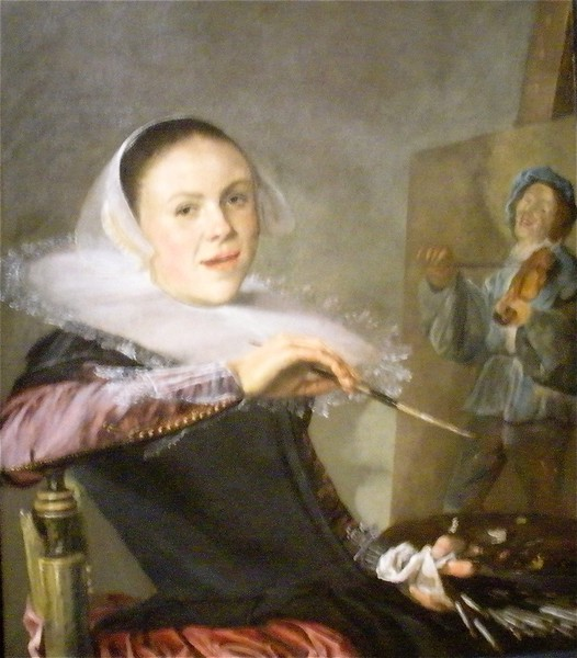 Judith Leyster, Self Portrait: National Museum of Art in Washington DC, Summer Vacation  2008 of Art in Washington DC, Summer Vacation