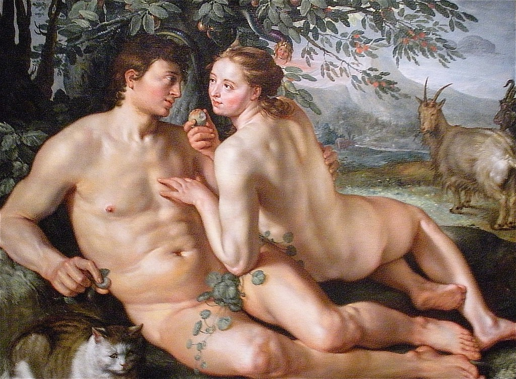 Adam and Eve: National Museum of Art in Washington DC, Summer Vacation  2008