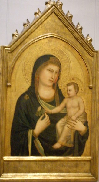 Madonna and Child by Giotto: National Museum of Art in Washington DC, Summer Vacation  2008