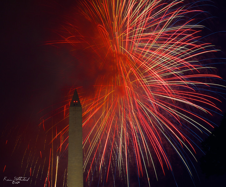 Fireworks on the National Mall | July 4, 2011