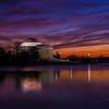 Jefferson Memorial Sunset - 01