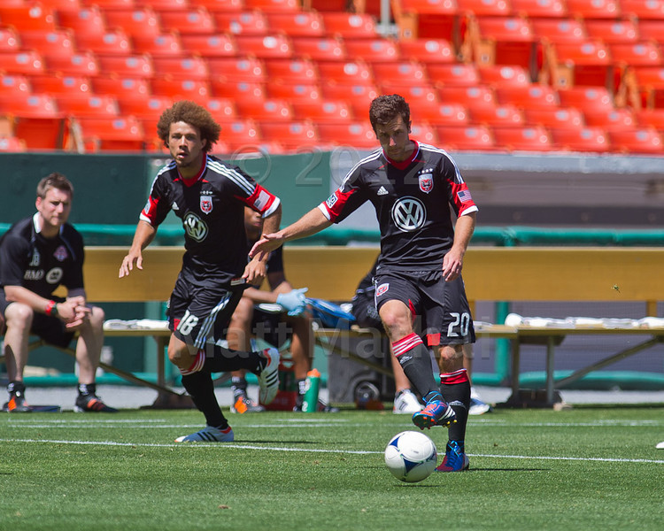 DCU Reserves vs. Toronto FC, 6/9/2012