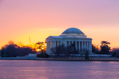 Sunrise at the Tidal Basin