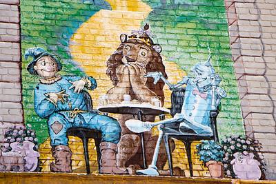 P Street Mural
