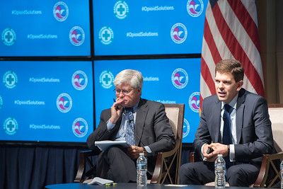 The Opioid Epidemic panel discussion at the Chamber of Commerce in Washington, DC on October 12, 2017.