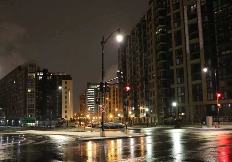 Pre Dawn Snow DC