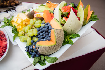 A flawless arrangement of fruits for a reception at St. Regis.