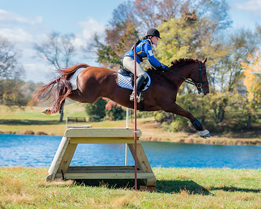 Waredeca equestrian cross country competition in October 2016.
