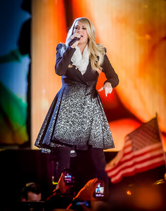 HBO and Starbucks salute United States veterans at Concert for Valor, with stars such as Carrie Underwood performing on the National Mall in Washington, DC.