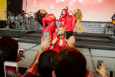 Fifth Harmony in concert from the crowd's perspective.