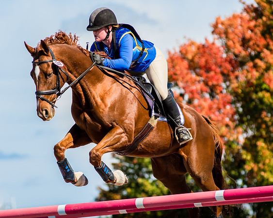 Waradeca show jumping equestrian competition in October 2016.