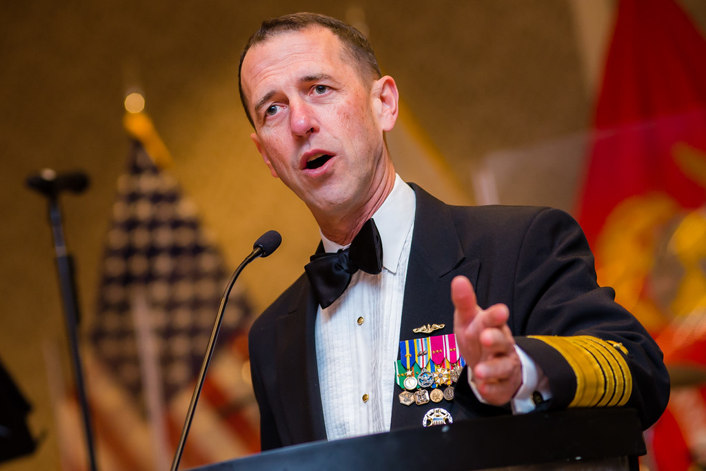 The 31st Chief of Naval Operations, John Richardson.