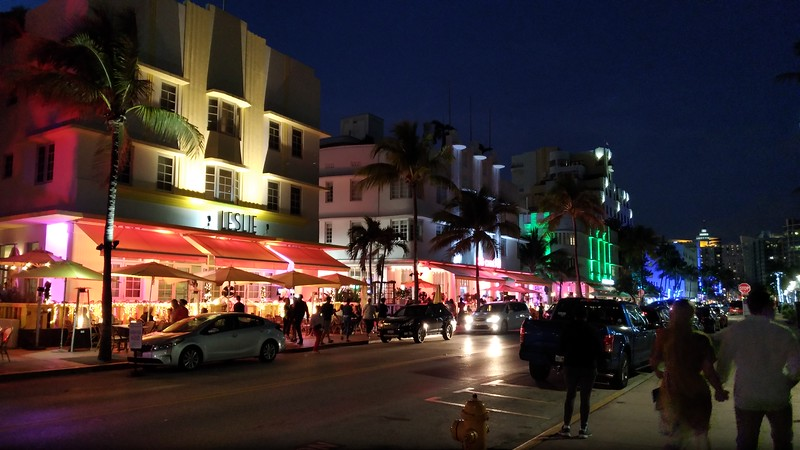 Ocean Dr.  Miami Beach near 13th st.
