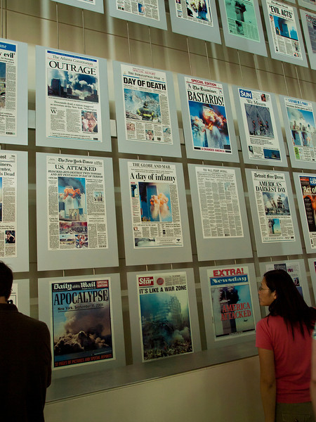 Headlines from newspaper around the world on Sept. 12th - Newseum