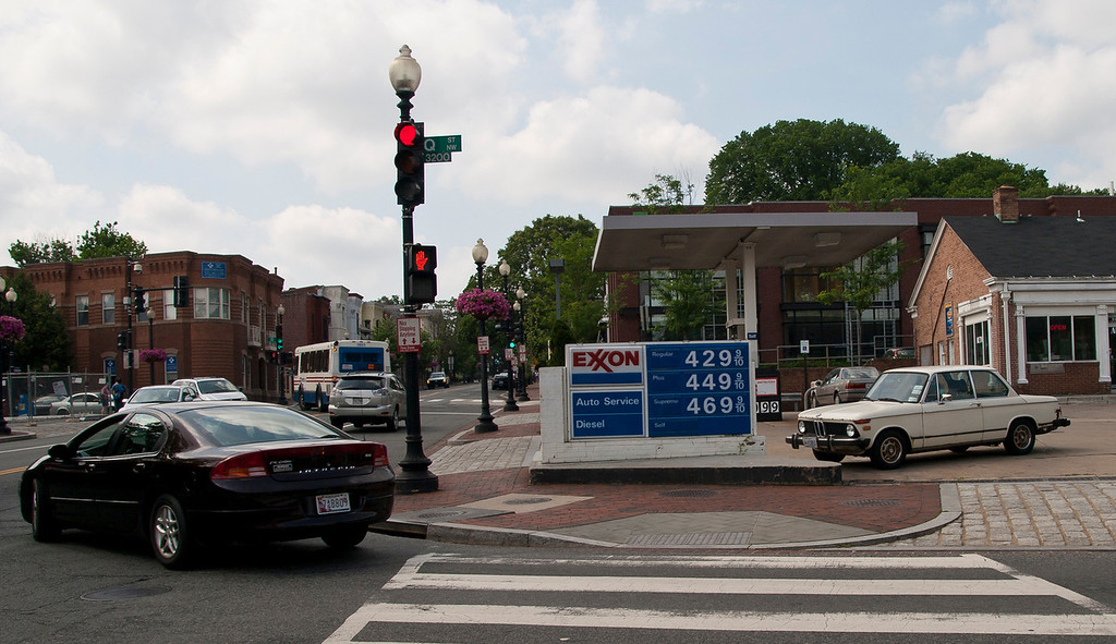Gas is 60 cents higher in D.C. than our pricey fuel.