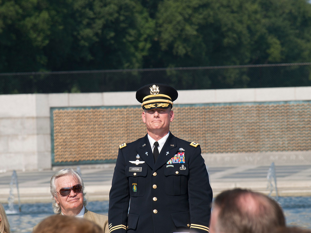 Chaplain LTC Keith Croom