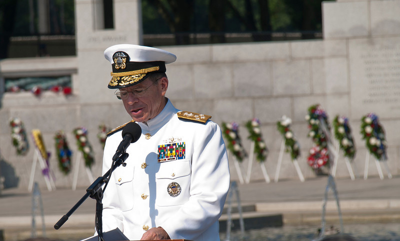 Commander of the Joint Chiefs of Staff, Admiral Mullen