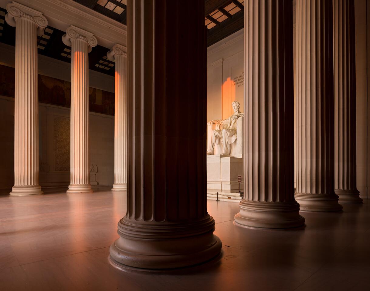 Lincoln Memorial Pano #5 2016