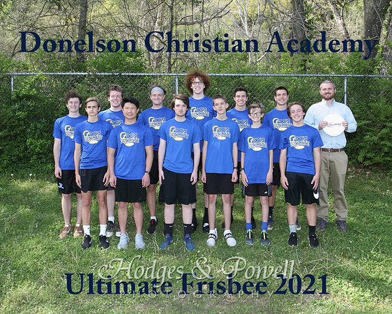Ultimate Frisbee Team a