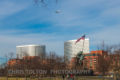 Air Tran over Rosslyn