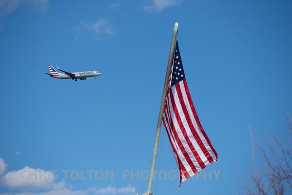 American over Iwo Jima Flag
