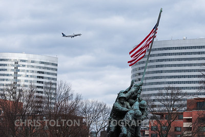 US Air Express turns over Rosslyn