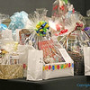 Gift baskets from various parish women's councils were available for 'raffle.' (Photo by J.B. Kelly/<i>The Mirror</i>)