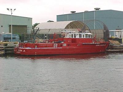 John Glenn fire boat